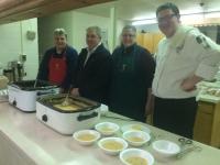 Jamie Schilling, Rick & Karen Glover, Chef Ryan Lange