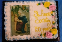 Congratulations on 150 years!  Nativity BVM St. Anne Society