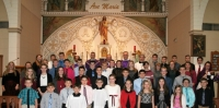 Confirmation Class 2016-St. Mary & Nativity BVM